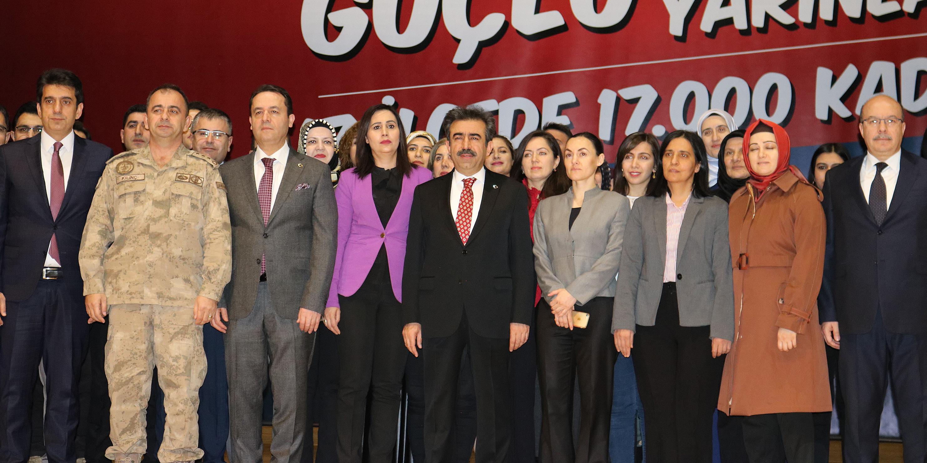 Diyarbakır'da Güçlü Kadınlar Güçlü Yarınlar Projesi