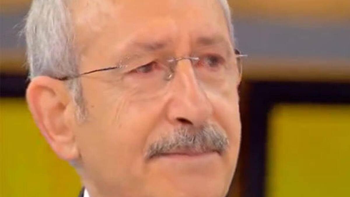 İdlib şehitleri Kılıçdaroğlu'nu ağlattı