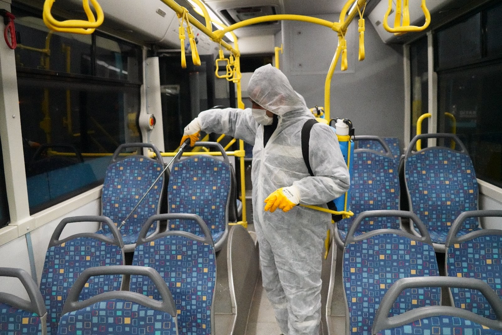 Büyükşehir'den koronavirüs önlemi