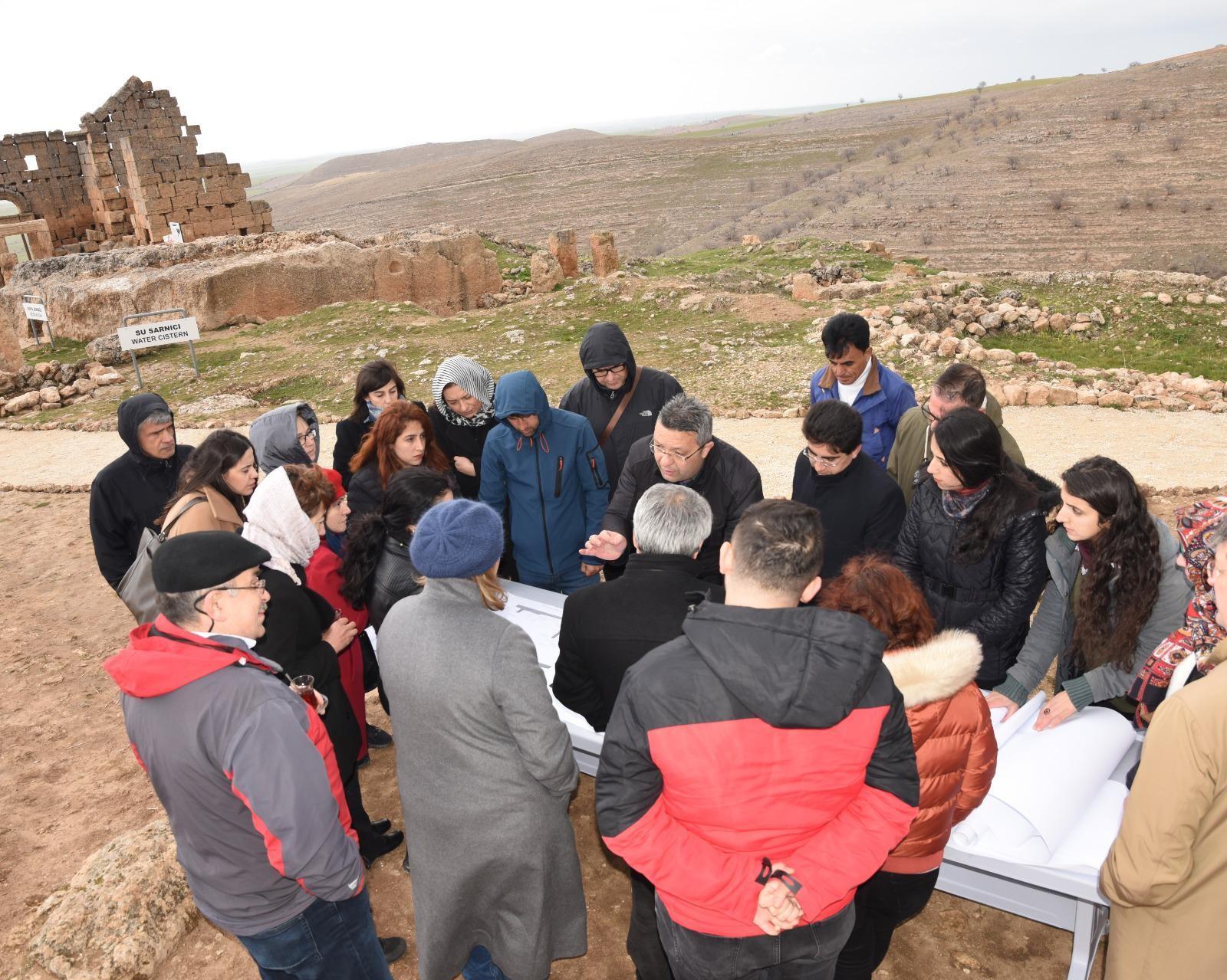 UNESCO heyeti Diyarbakır'a