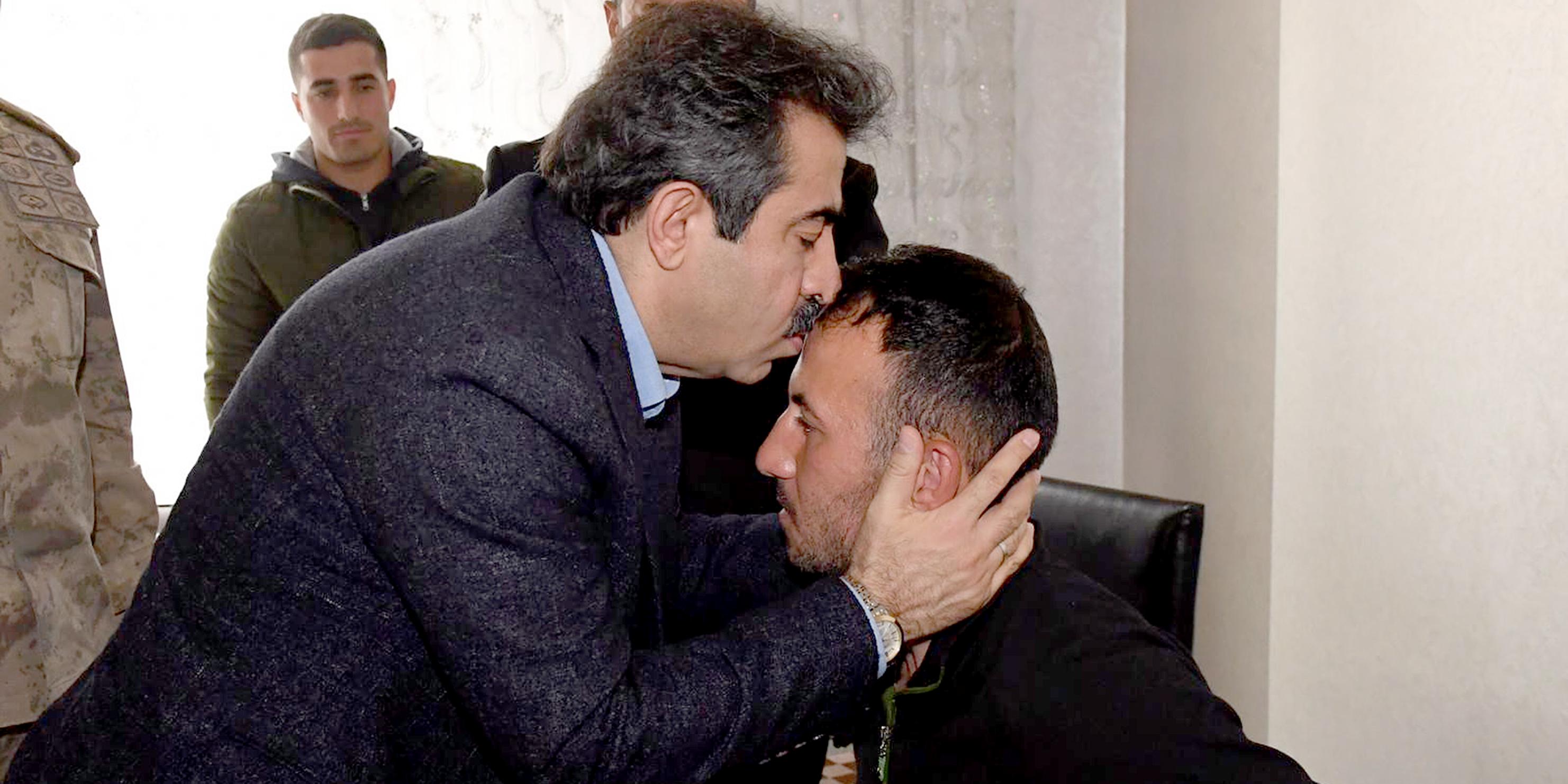 Vali Güzeloğlu'ndan İdlib gazisine ziyaret