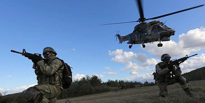 Mardin kırsalında operasyon