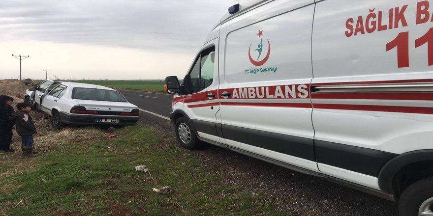 Şanlıurfa'daki kazada 3 çocuk yaralandı