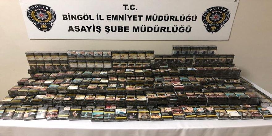 Bingöl'de hırsızlara operasyon: 5 tutuklama