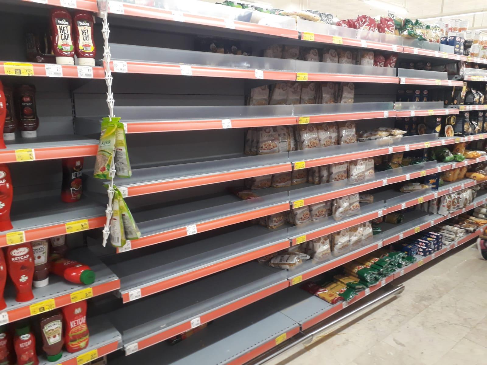 Diyarbakır'daki marketlerde makarna kalmadı