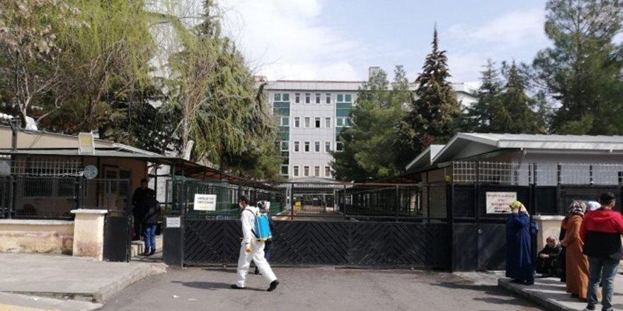 Diyarbakır Adliyesinde koronavirüs önlemi