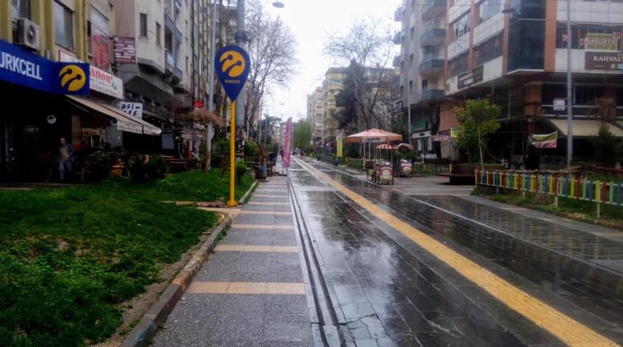 Diyarbakır 'evde kal' kampanyasına uydu