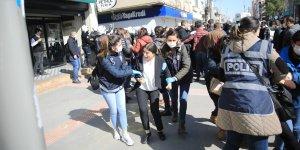 Kayyum protestosu:16 kişi gözaltına alındı