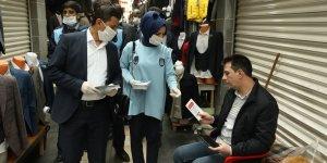 Diyarbakır'da koronavirüs bilgilendirmesi