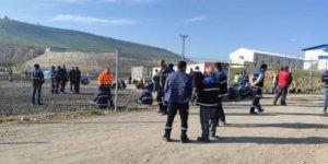 Cengiz Holding çalışanları bir günlük iş bırakma eylemi yaptı