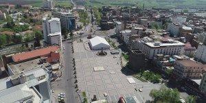Diyarbakır sokağa çıkma yasağına uydu, sokaklar boş kaldı