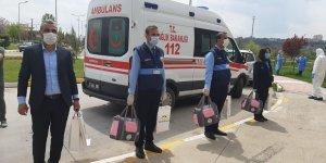 Beyoğlu'dan koronavirüsü yenen çocuklara hediye