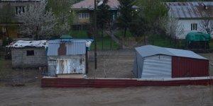 Aşırı yağışlar nedeniyle Habur çayı taştı