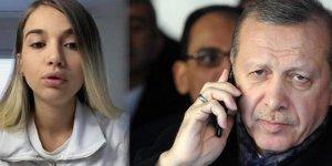Erdoğan, İsveç'ten yardım isteyen Leyla ile görüştü