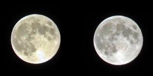Süper ay görsel şölen yarattı