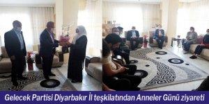 Gelecek Partisi Diyarbakır İl teşkilatından Anneler Günü ziyareti