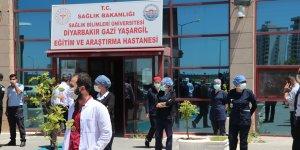 Diyarbakır'da 22 sağlık çalışanı daha koronavirüsü yendi