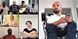 Büyükşehir Belediyesi engelli vatandaşlara klip çekti