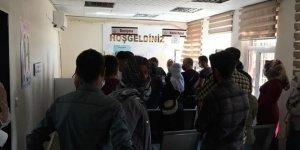Diyarbakır'da sosyal mesafesizliğin fotoğrafı!