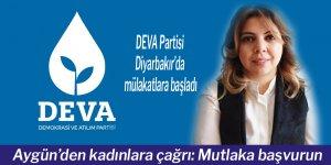 DEVA Partisi Diyarbakır'da mülakatlara başladı