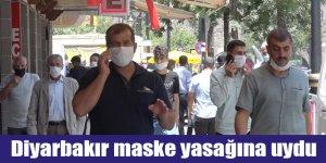 Diyarbakır maske yasağına uydu
