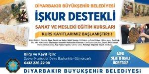 Diyarbakır'da 12 farklı branşta kurs
