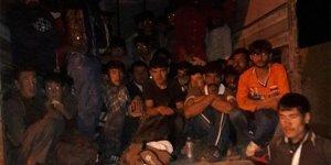 Ağrı merkezli kaçak göçmen operasyonu