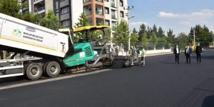 Şanlıurfa yolu ile bağlantıyı sağlayan cadde asfaltlandı
