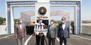Diyarbakır Valisi müjdeyi verdi, canlı hayvan borsası açılıyor