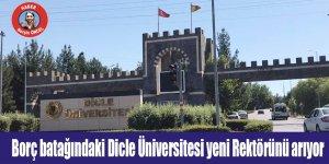 Borç batağındaki Dicle Üniversitesi yeni Rektörünü arıyor