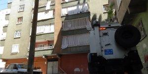 Diyarbakır'da bir bina karantinaya alındı