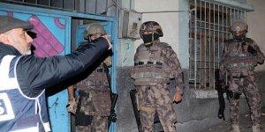 Gaziantep'teki operasyonda 9 zanlıya tutuklama