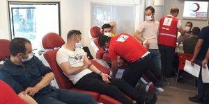 Hani'de kan bağışı kampanyasına destek