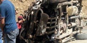 Hakkari'de kaza: 6 kişi hayatını kaybetti