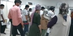 VİDEO - Diyarbakır'da bir hastanede korona virüse davetiye