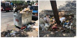 VİDEO - Yılmaz Güney Caddesi çöplükten geçilmiyor!