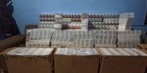 Hakkari'de 5 bin 700 paket kaçak sigara ele geçirildi