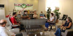 CHP yönetiminden Amedspor'a ziyaret