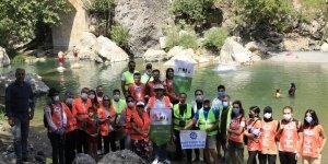 Diyarbakır'ın saklı cennetinde temizlik kampanyası başlatıldı