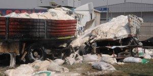 Şırnak'ın Cizre ilçesinde trafik kazası