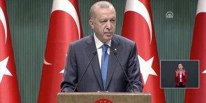 Erdoğan: Toplu taşımada ayakta yolcu alınmasına müsaade edilmeyecek