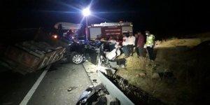 Mardin'de kaza: 6 ölü, 2 yaralı