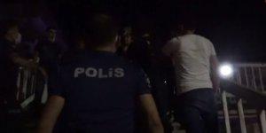 Diyarbakır'da gazeteci ve polislere korona temaslı kişilerden saldırı