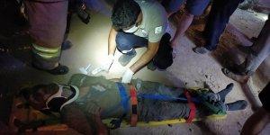 Mardin'de okul inşaatı çöktü: 5 yaralı