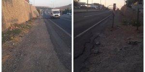 Diyarbakır'da bozuk okul yolu onarılmayı bekliyor