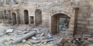 Diyarbakır'da Surp Sarkis Kilisesi'nin taşları çalındı