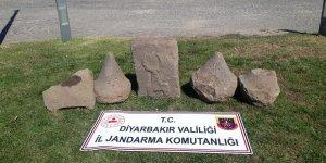 Diyarbakır'da Asur dönemine ait tarihi eser ele geçirildi