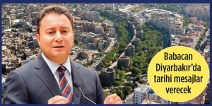 VİDEO - Babacan, Diyarbakır'da tarihi mesajlar verecek