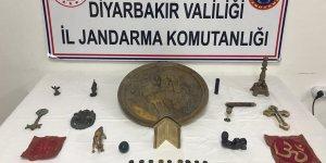 Diyarbakır'da tarihi eser kaçakçılığı operasyonu