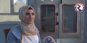 VİDEO - Diyarbakır'ın tek kadın simit ustası